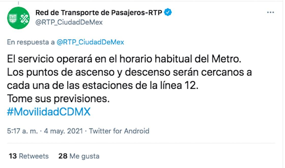 linea-12-ruta-alternativa-metro-rtp