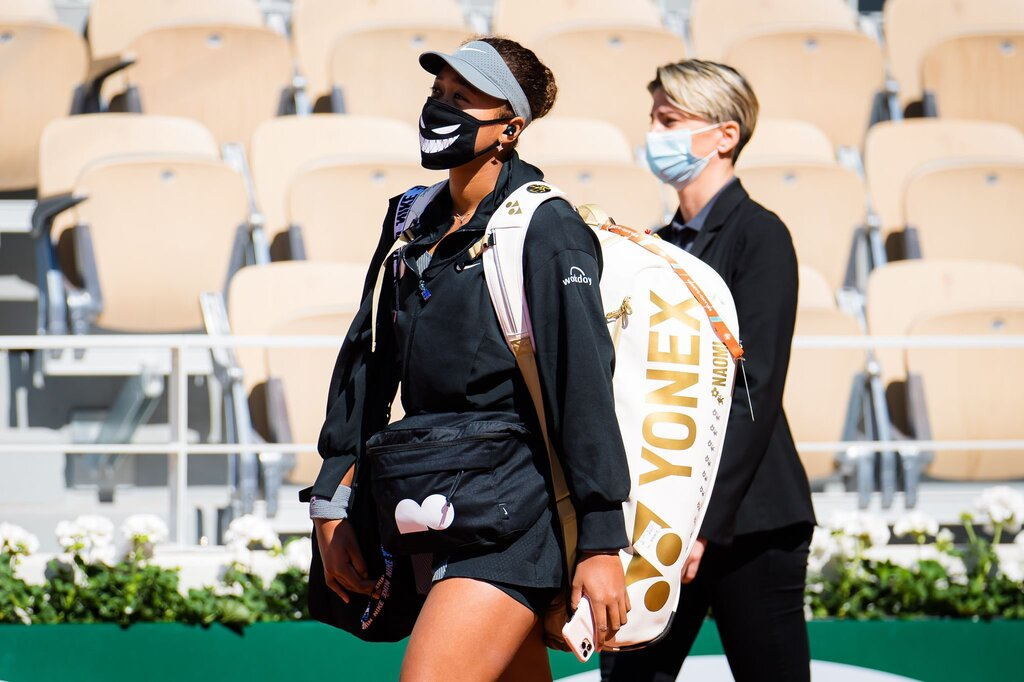 La japonesa Naomi Osaka abandonó Roland Garros para cuidar su salud mental