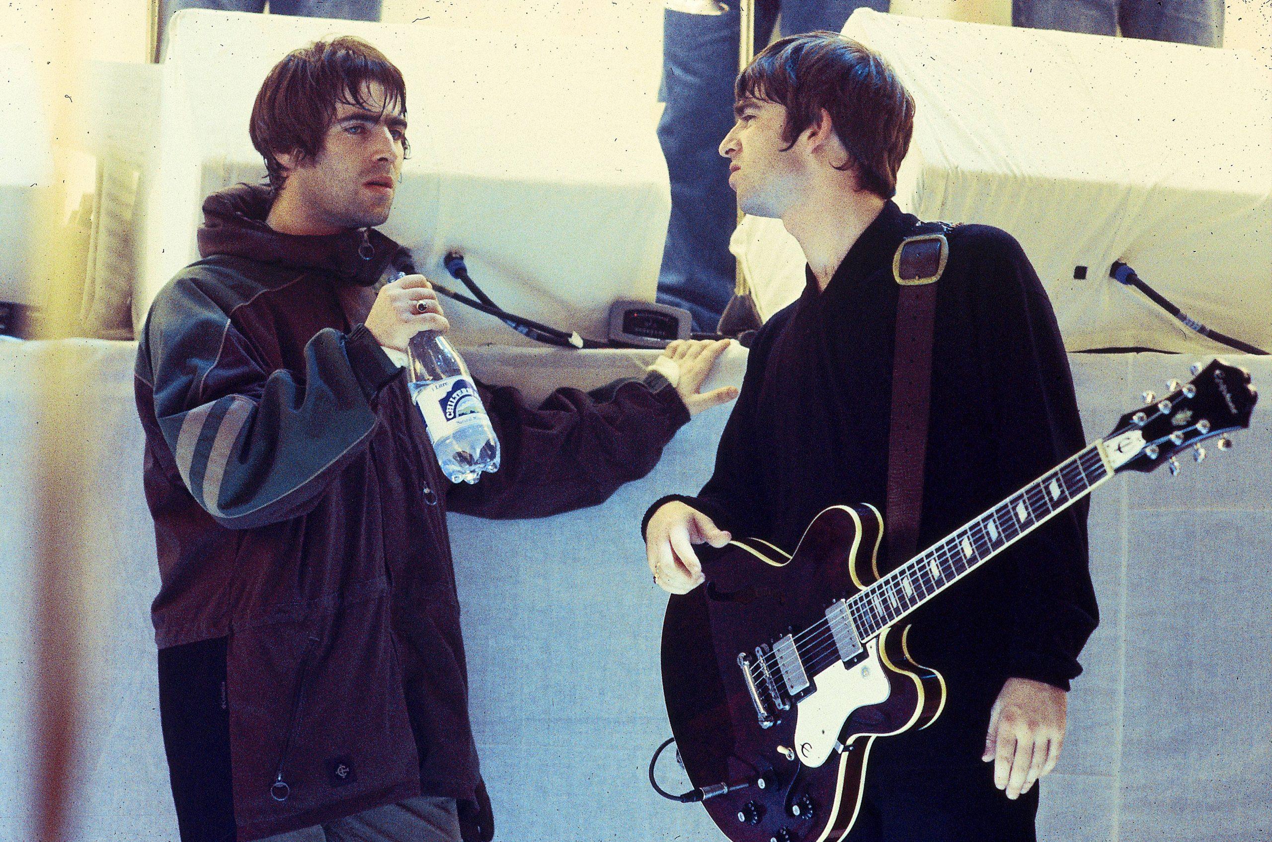 Noel y Liam Gallagher trabajan en un documental de los shows de Oasis en Knebworth