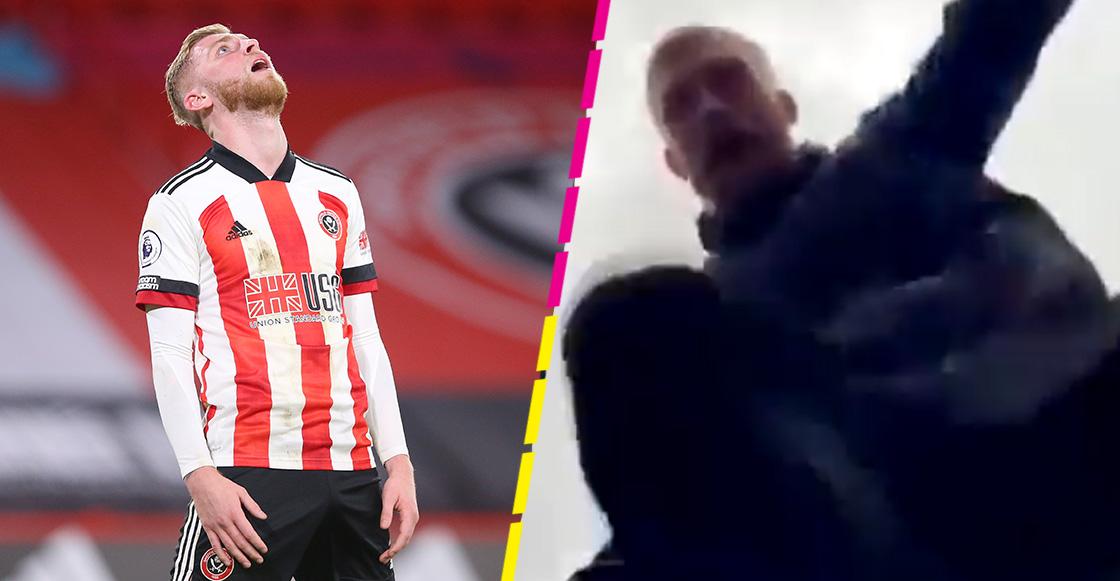 Delantero del Sheffield United, Oli McBurnie ataca a fan en las calles de Inglaterra