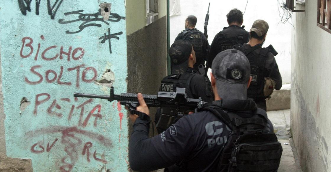 Rio de Janeiro's Jacarezinho Slum Action