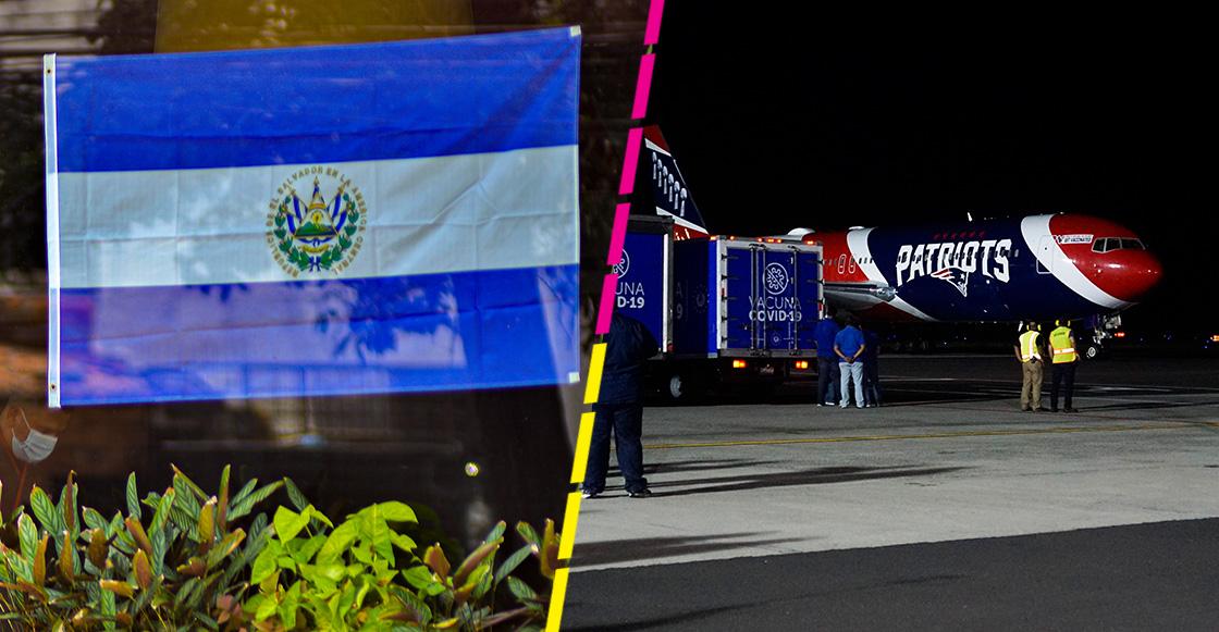 Patriots utiliza su jet privado para llevar vacunas contra COVID-19 a El Salvador