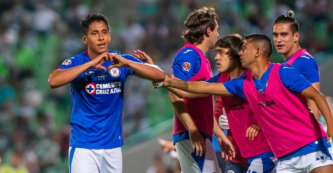 Revive el gol de Luis Romo con el cual Cruz Azul sueña con el título de liga ante Santos