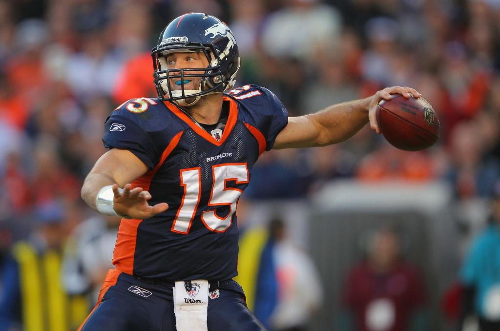Tim Tebow con Denver Broncos