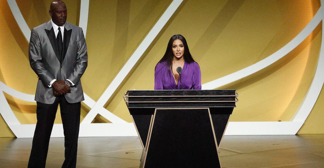 El emotivo discurso de Vanessa Bryant en la inducción de Kobe al Salón de la Fama
