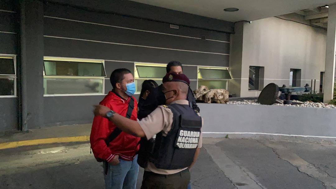 """Venezuelan authorities confiscated """"moral loss"""" at the headquarters of the newspaper Nacional"""