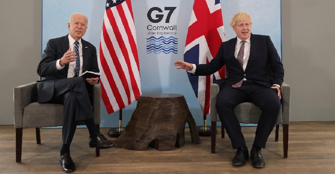 Boris Johnson Biden 2