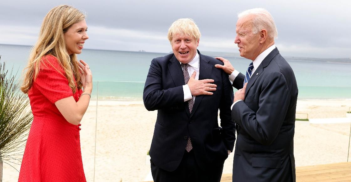 Boris Johnson Biden