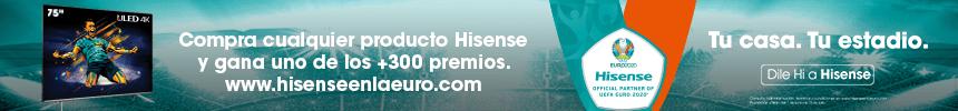 COMPRA CUALQUIER PRODUCTO HISENSE Y GANA PREMIOS