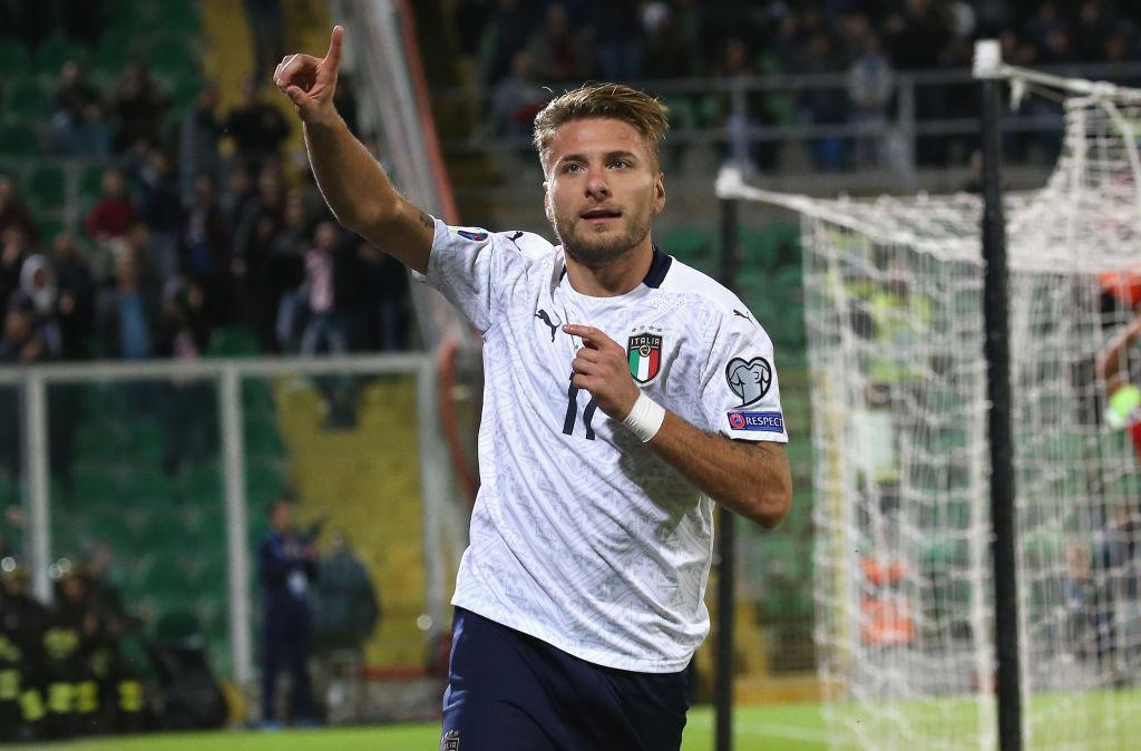 Ciro Immobile referente de la selección italiana