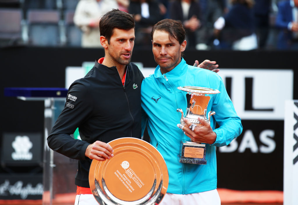 Novak Djokovic vs Rafael Nadal en la semifinal de Roland Garros
