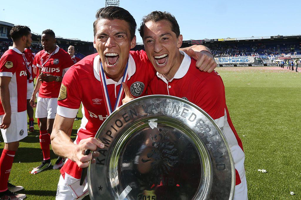 Héctor Moreno campeón con el PSV