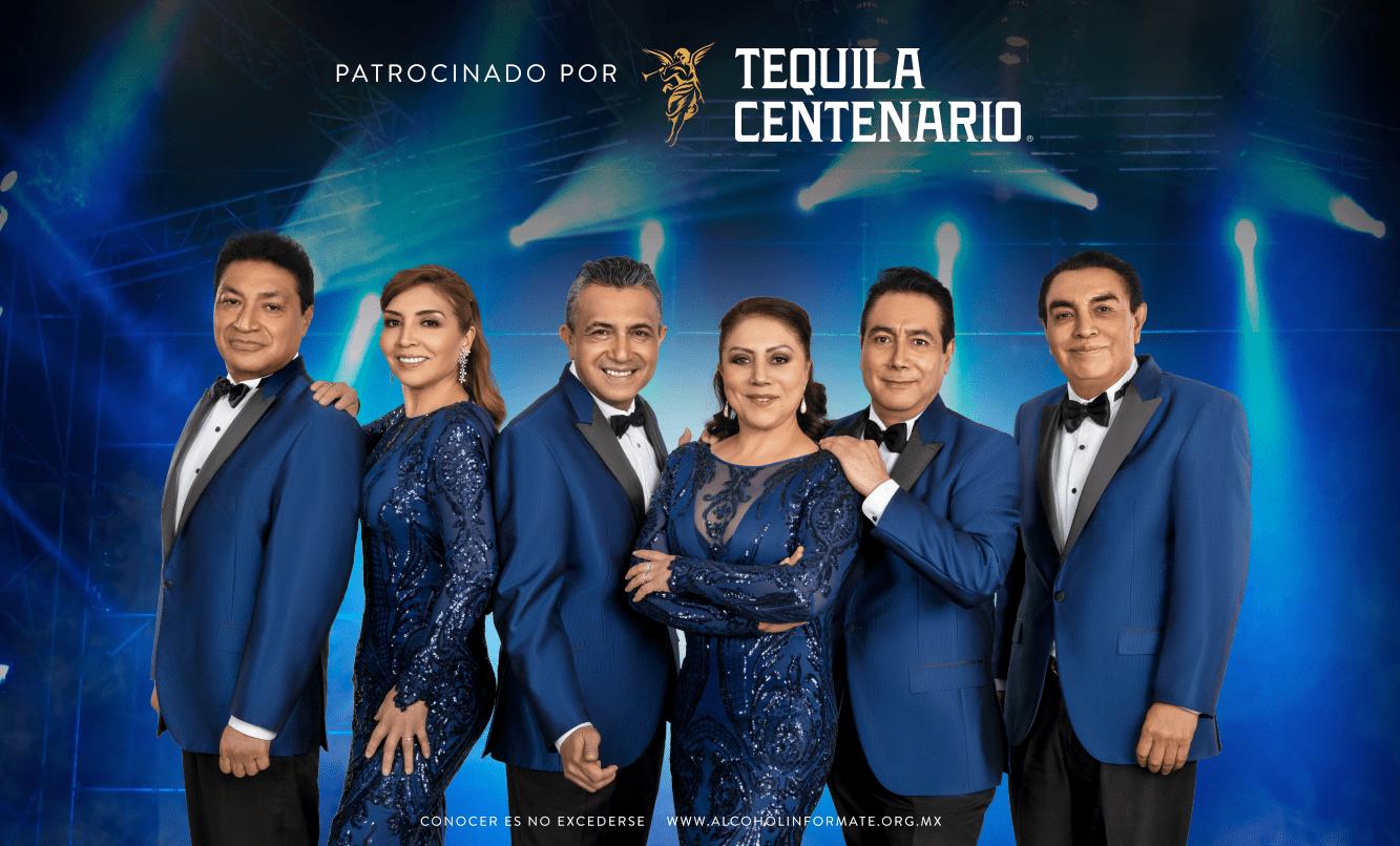 Los Ángeles Azules te estás buscando para la Cumbia Más Grande De México