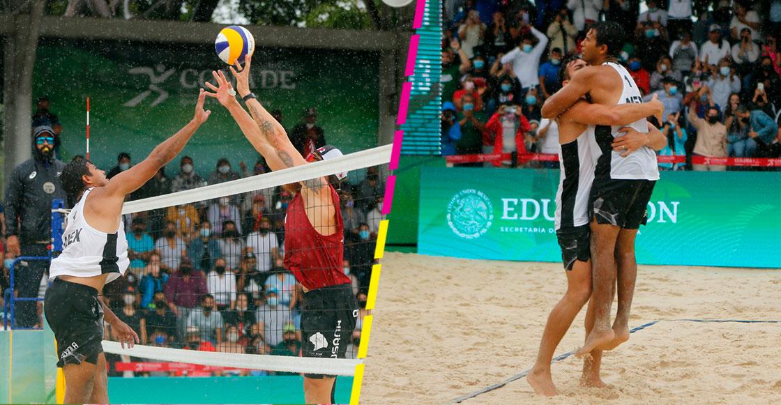 México consigue medalla dorada y plaza olímpica en set de oro en voleibol de playa