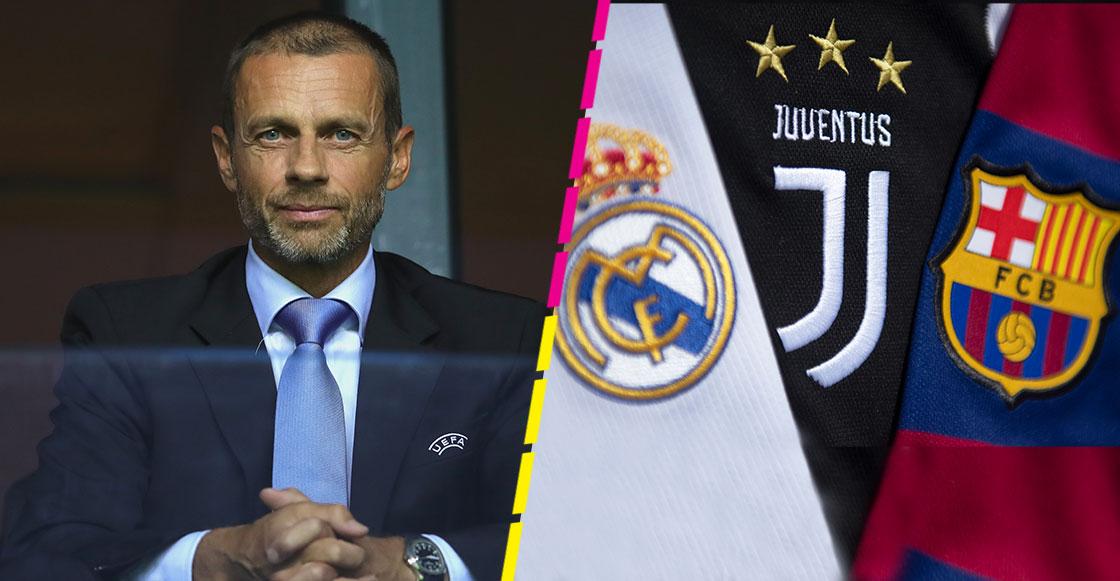 UEFA deja en pausa los castigos a Real Madrid, Barcelona y Juventus por la Superliga Europea