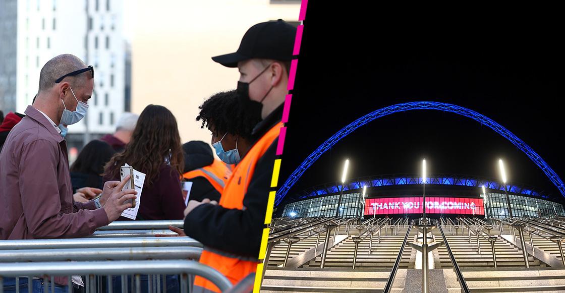 Fans que asistan a Wembley para la Euro, deben mostrar comprobante vacunación o pruebas negativas
