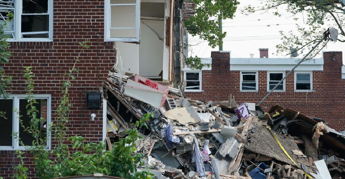 Un albañil destruyó la casa que había remodelado porque se negaron a pagarle