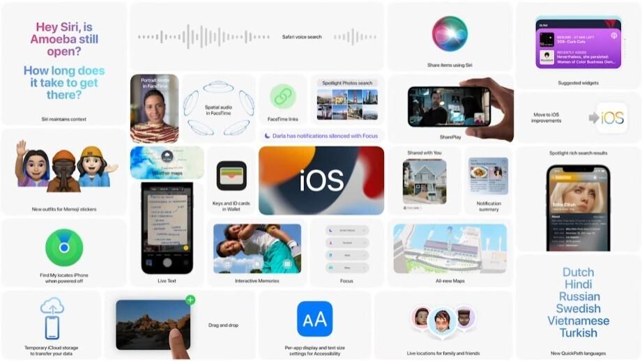 Estas son las novedades que Apple anunció para iOS 15 en la WWDC