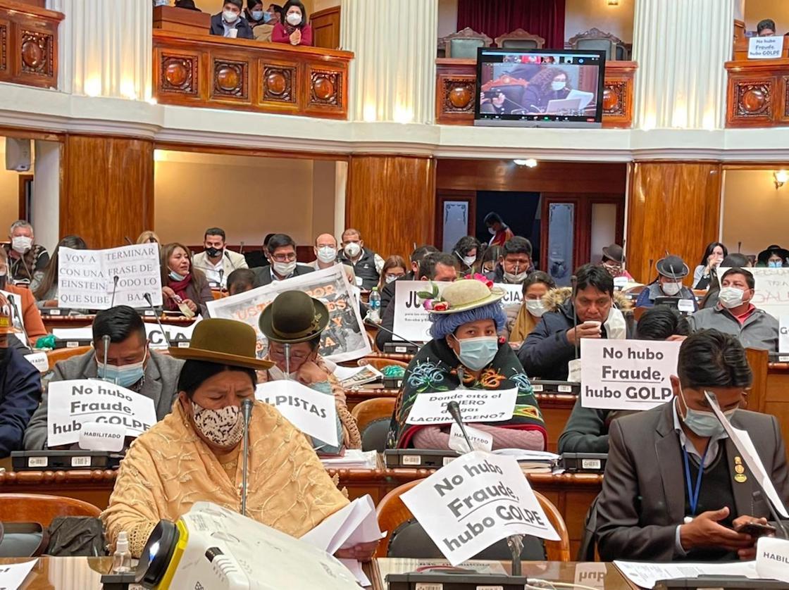 bolivia-congreso-pelea