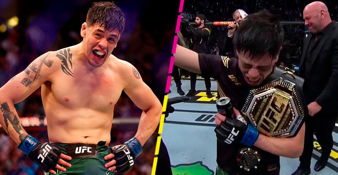 Brandon Moreno hace historia en UFC, es el primer campeón nacido en México