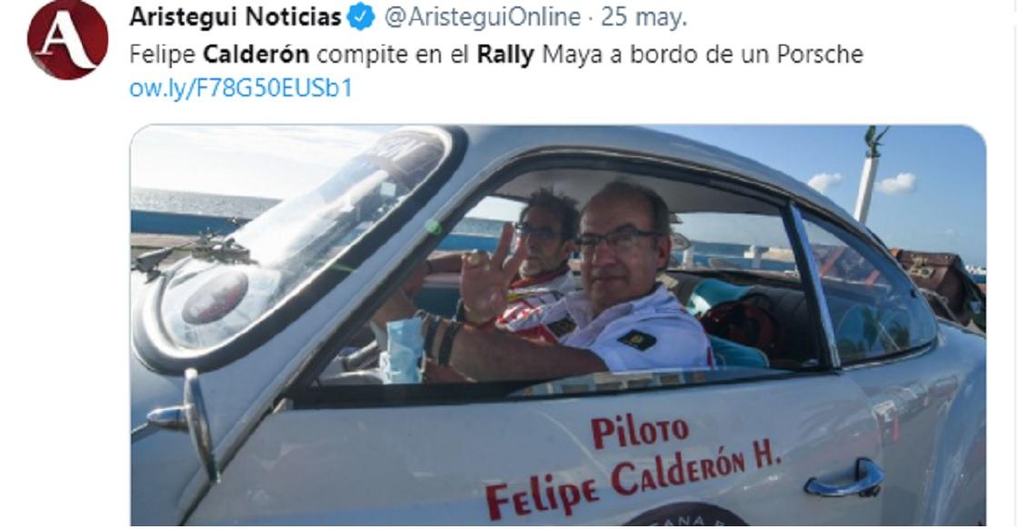 calderon rally