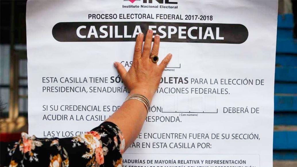 ¿Estás lejos de casa? Aun así puedes votar en las casillas especiales de la CDMX