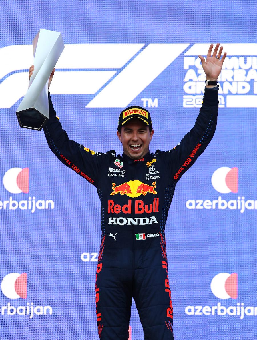 Checo Pérez triunfo F1