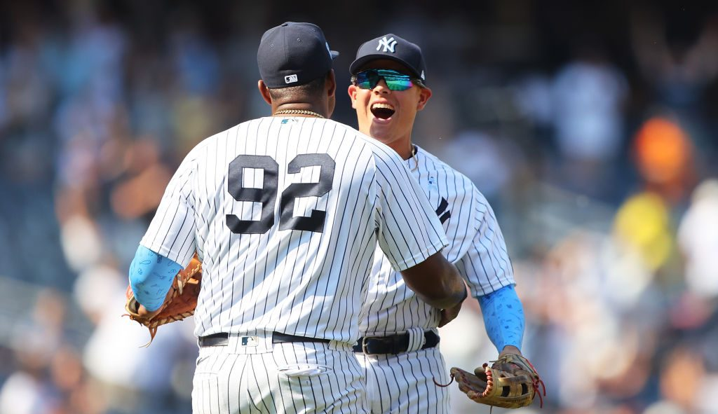 ¡De locos! Así fue el triple-play de los Yankees que consumó el triunfo ante Oakland
