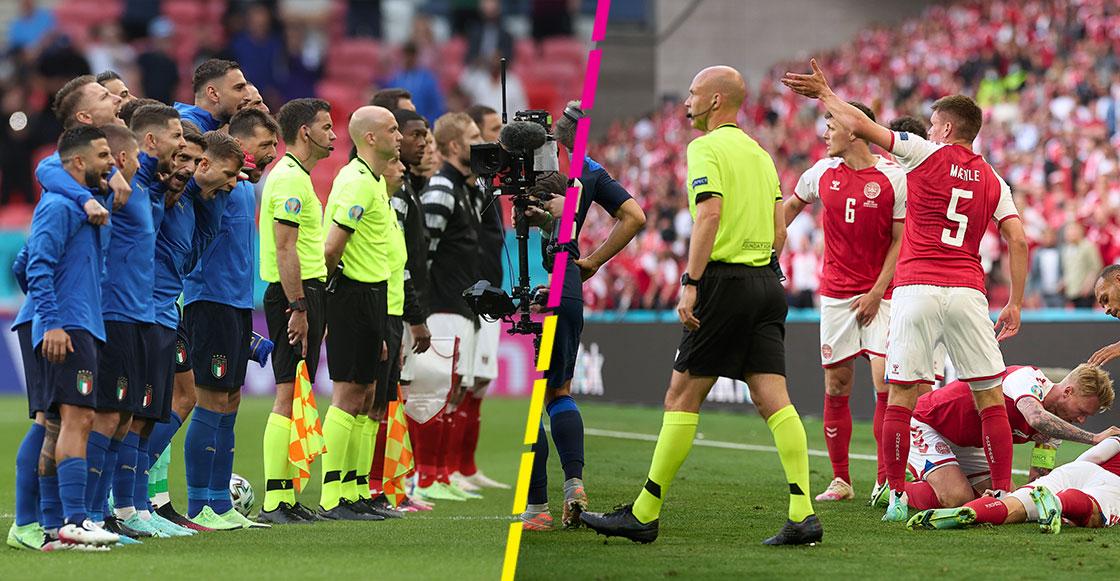 UEFA reconoce al árbitro que intervino en el protocolo de atención a Christian Eriksen
