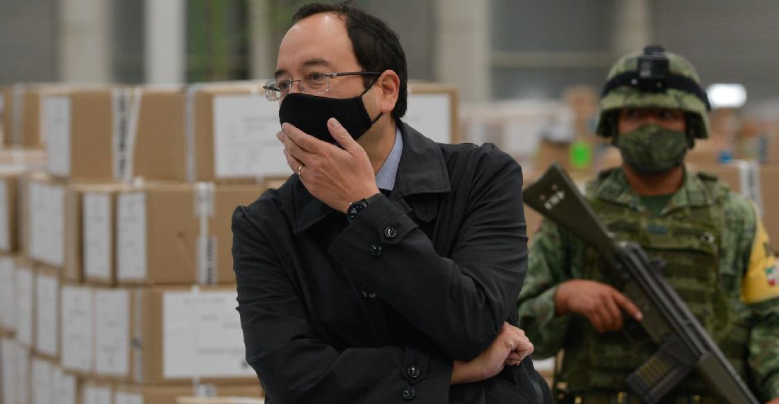 Ciro Murayama acusa al gobierno de usar a la UIF para investigarlo