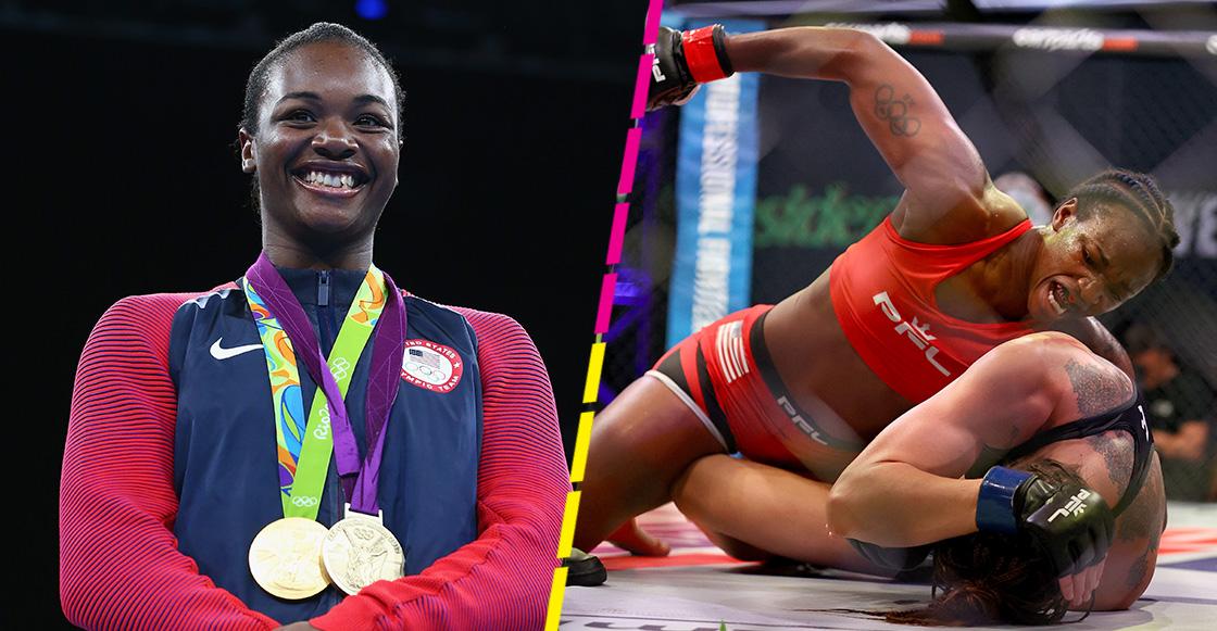La ex medallista olímpica, Claressa Shields, debuta en las MMA con violenta victoria
