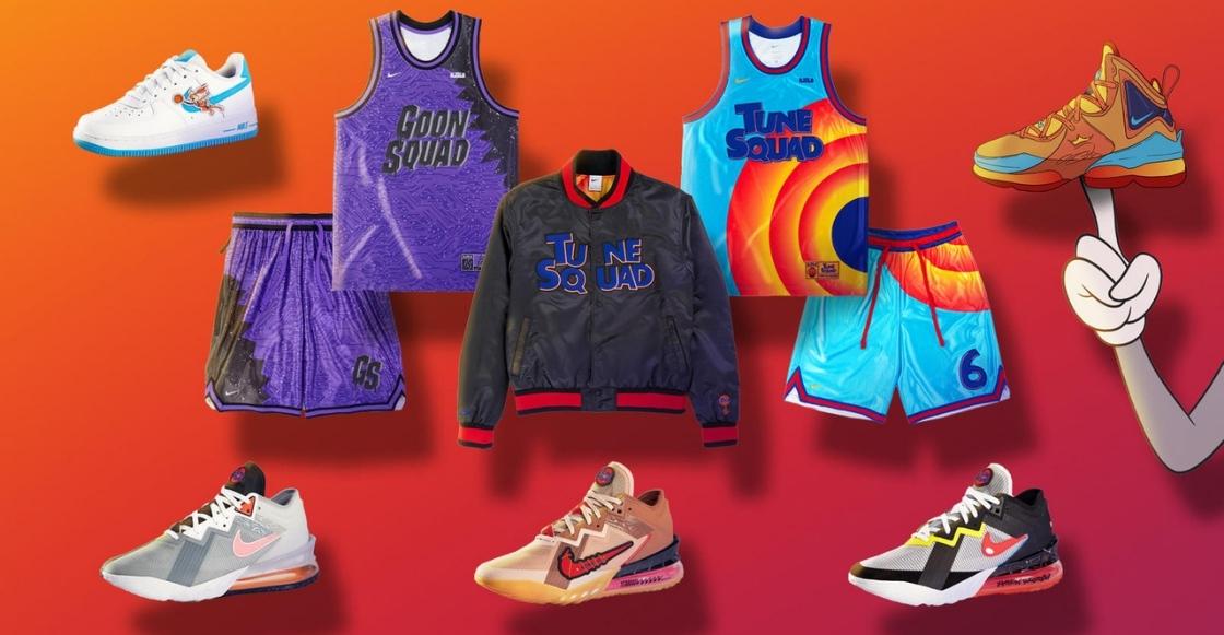 Checa la colección 'Space Jam: A New Legacy' de Nike y Converse para que le entres al juego