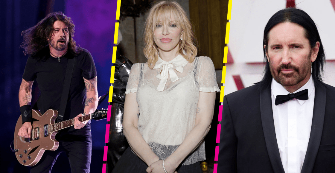 Courtney Love se lanzó contra Dave Grohl y acusó a Trent Reznor de abuso