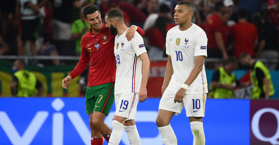 Los dobletes de Cristiano Ronaldo y Benzema con los cuales Alemnia quedó fuera de la Eurocopa