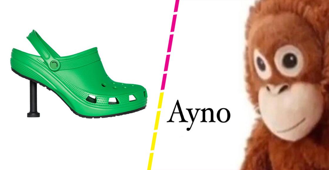 Ay, no: Balenciaga le pone tacones a los Crocs... los arruina otra vez