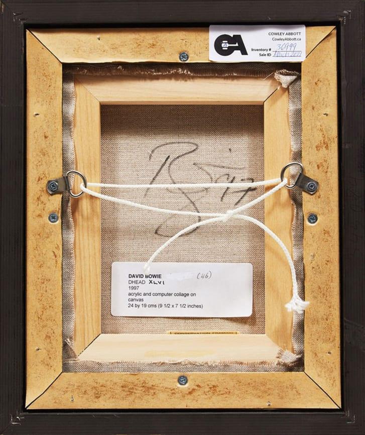 Ofertas brgs: Hombre compró una pintura de David Bowie por 4 dólares y ahora la subastan en miles