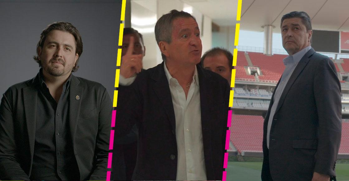 """""""La gente va a ser un jugador más"""": Una entrevista por la serie 'Chivas: El Rebaño Sagrado'"""
