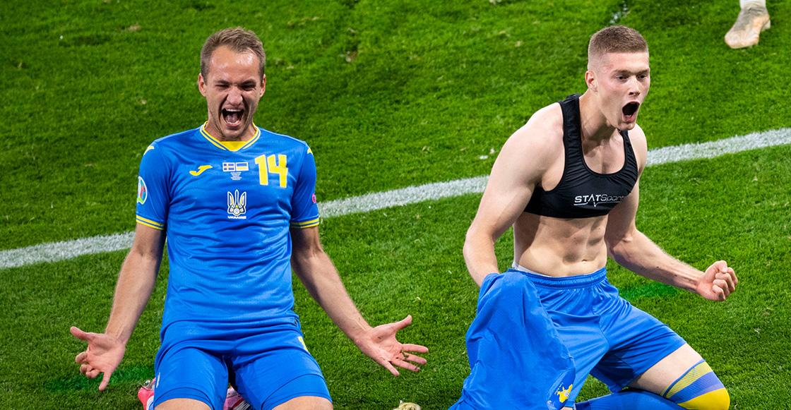 El dramático gol con el que Ucrania venció a Suecia para avanzar a cuartos en la Eurocopa