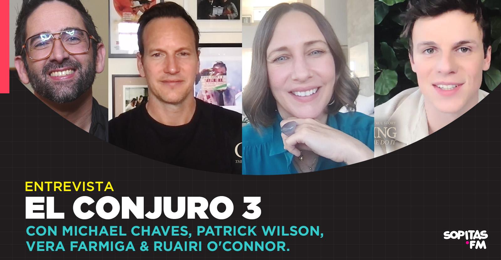 El caso real y los dilemas morales: Una entrevista con los protagonistas y el director de 'El Conjuro 3'