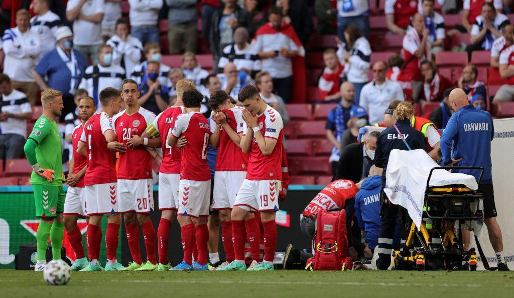 Eriksen se desploma durante encuentro entre Dinamarca y Finlandia de la Eurocopa