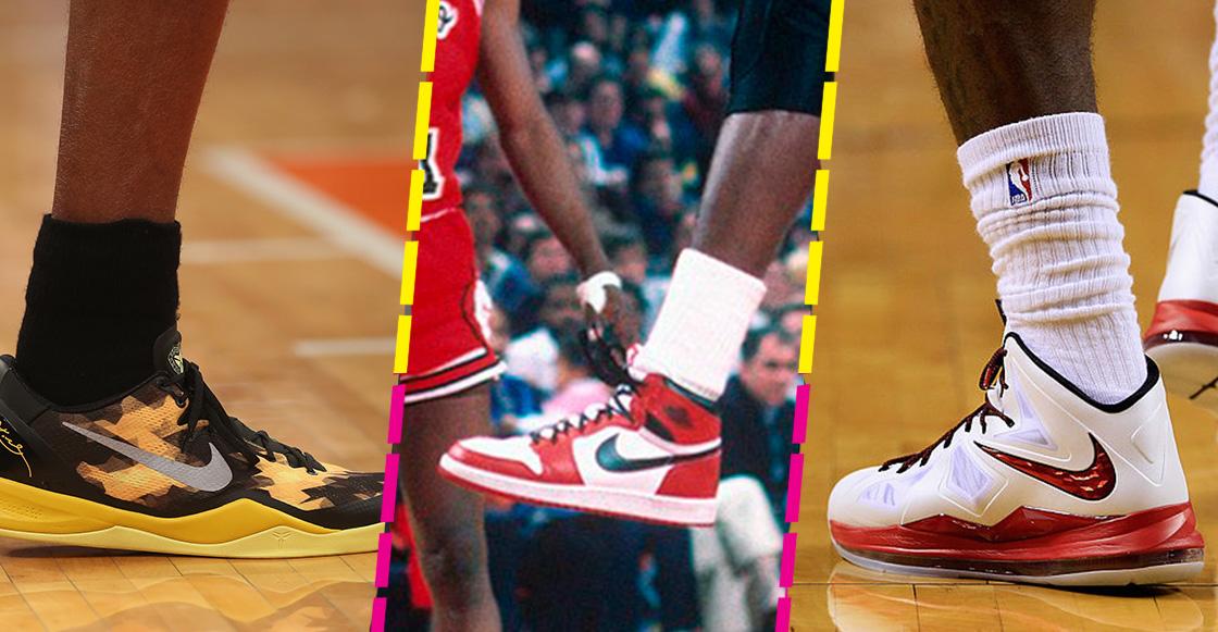 La evolución de los zapatos en la NBA que comenzó con Michael Jordan