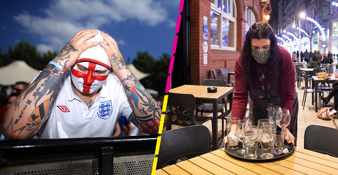 En Londres, fans tienen prohibido cantar los himnos en bares durante el Inglaterra vs Escocia