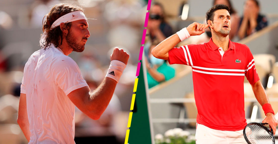 Tsitsipas vs Djokovic: Así se jugará la Final masculina de Roland Garros