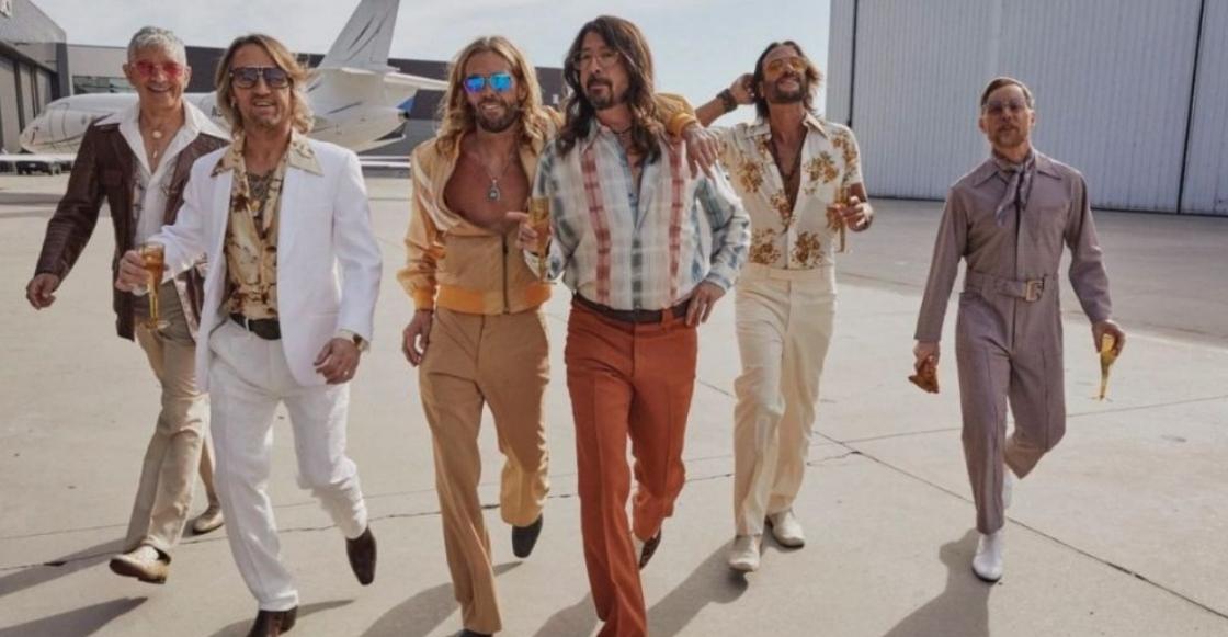 ¡Wow! Foo Fighters se cambiarán el nombre y lanzarán un álbum de música disco