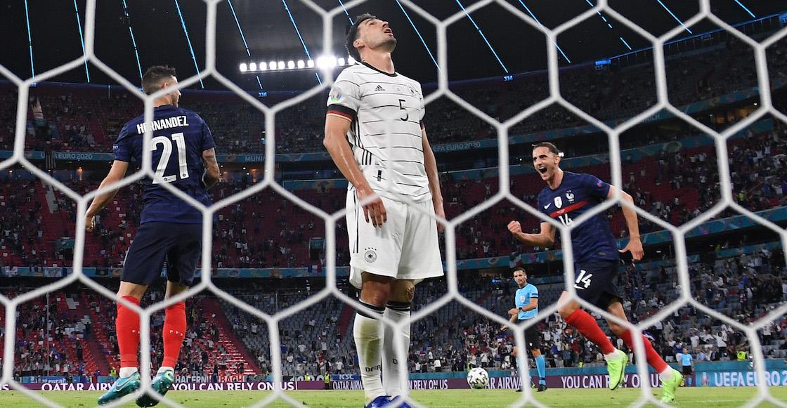 Francia vs Alemania autogol de Hummels