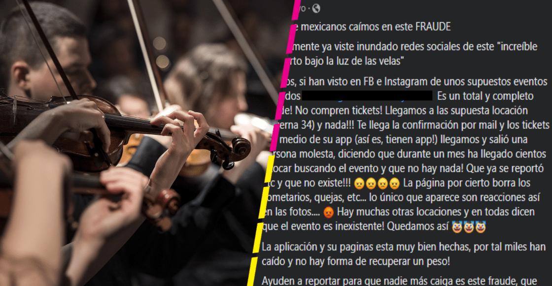 ¿Qué pasa con el supuesto fraude sobre los conciertos de música clásica en CDMX?