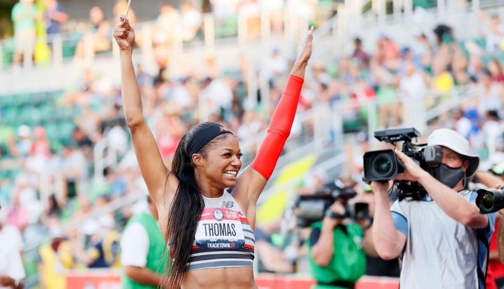 Gabby Thomas, la neurobióloga que brillará en el atletismo de Tokio 2020