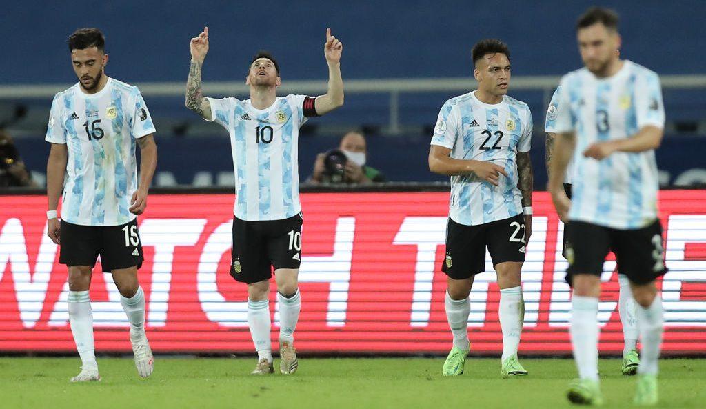 ¡El especialista! Revive el gol de tiro libre con el que Lionel Messi se estrenó en la Copa América