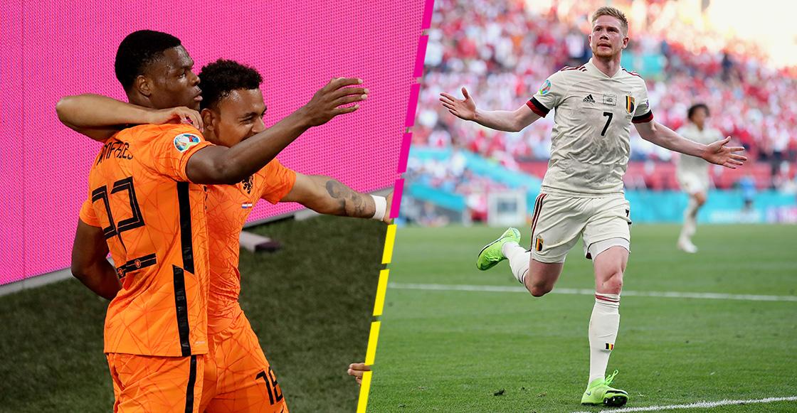 Los goles que ponen a Bélgica y Países Bajos en octavos de final de la Eurocopa