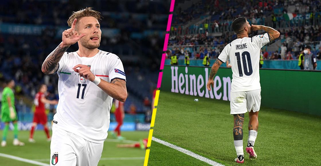 Los goles con los que Italia borró a Turquía en el inicio de la Eurocopa